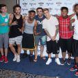 """Justin Bieber à la soirée """"Mayweather Vs. Pacquiao"""" à Las Vegas, le 2 mai 2015"""