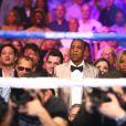 Jay Z lors du combat Floyd Mayweather - Manny Pacquiao à Las Vegas, le 2 mai 2015.