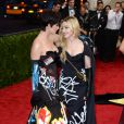 Katy Perry et Madonna au bal du Costume Institute, le Met Gala, au Metropolitan Museum of Art à New York, le 4 mai 2015.