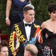 Katy Perry et Jeremy Scott au bal du Costume Institute, le Met Gala, au Metropolitan Museum of Art à New York, le 4 mai 2015.