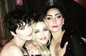 Lady Gaga dans les bras de Madonna : Fin de la guerre au MET Gala 2015 ?