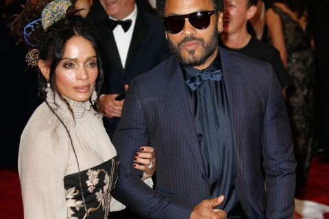 Lenny Kravitz : Au bras de son ex Lisa Bonet, il fait le bonheur de Zoë