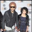 Lenny Kravitz et sa fille Zoë à la projection de Precious, à New York le 3 octobre 2009
