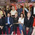 Les invités de  Vivement dimanche  sur France 2 pour l'enregistrement du 29 avril 2015 (émission diffusée : le 3 mai 2015 sur France 2).