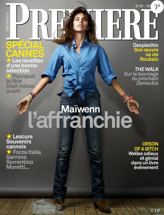 Le magazine Première du mois de mai 2015