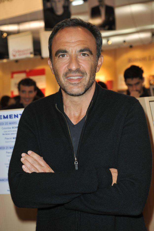 Nikos Aliagas - 35ème Salon du Livre à la Porte de Versailles à Paris, le 21 mars 2015.
