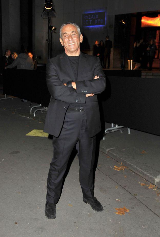 Thierry Ardisson - Arrivées des people à la soirée des 30 ans de Canal + au Palais de Tokyo à Paris le 4 novembre 2014.