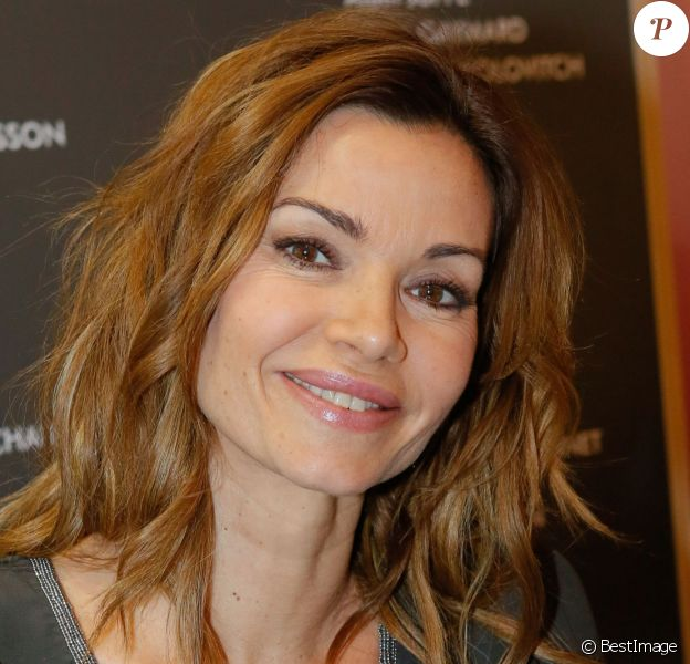 Ingrid Chauvin au Salon du Livre à Paris le 22 mars 2015.