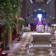 Baptême de Jacques et Gabriella en la Cathédrale Notre-Dame-Immaculée de Monaco, le 10 mai 2015.