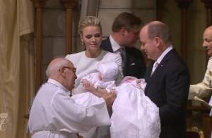 Baptême de Jacques et Gabriella : L'émotion de Charlene et Albert de Monaco