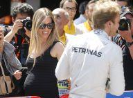 Nico Rosberg : Sa belle Vivian, enceinte, heureuse sous le soleil de Barcelone