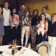 Sofia Vergara a réuni sa famille pour la fête des mères, le 10 mai 2015 sur Instagram