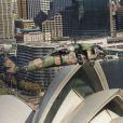 Image de la mission du prince Harry en Australie diffusée le 8 mai 2015, jour de la fin de son détachement d'un mois auprès de l'armée australienne à Sydney, Darwin et Perth.