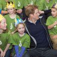 Le prince Harry est arrivé en Nouvelle-Zélande le 9 mai 2015 pour une visite d'une semaine après un mois de déploiement avec l'armée australienne.
