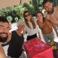 Les Karabatic en famille à Barcelone - 2015