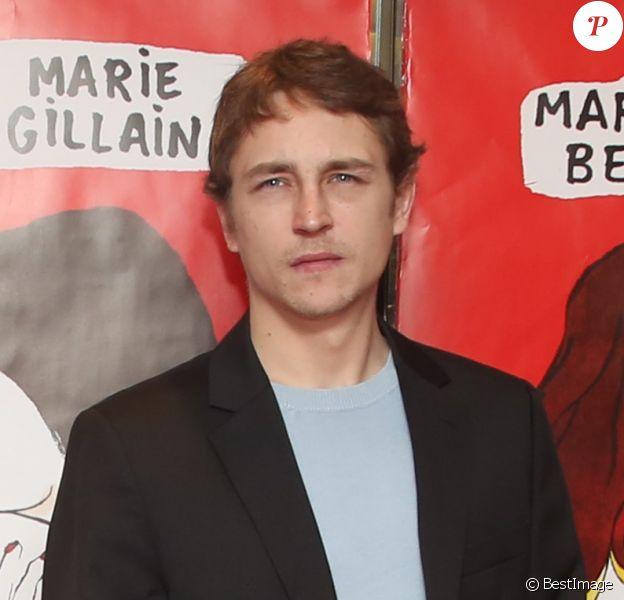 """Vincent Rottiers - Avant-première du film """"Valentin Valentin"""" au Cinéma UGC Les Halles à Paris, le 6 janvier 2015"""