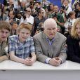 Vincent Rottiers, Thomas Doret, Michel Bouquet et Christa Theret pour le photocall du film Renoir à Cannes le 26 mai 2012