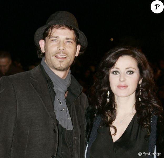 Tina Arena et son mari Vincent Mancini - NRJ Music Awards, à Cannes le 21 janvier 2006
