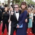 """""""Philippe Manoeuvre et sa femme Candice de la Richardière - Montée des marches du film """"Mad Max : Fury Road"""" lors du 68 ème Festival International du Film de Cannes, à Cannes le 14 mai 2015."""""""