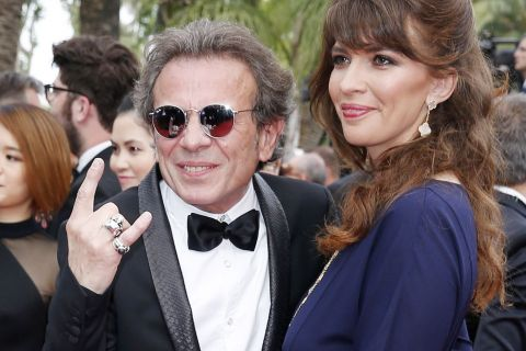 Philippe Manoeuvre et sa femme Candice : In love à Cannes devant Valérie Damidot