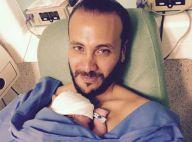 Merwan Rim papa : ''L'accouchement fut plus compliqué que pour Roman''