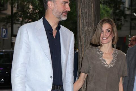Letizia d'Espagne sexy: Très court vêtue pour une soirée de rigolade avec Felipe
