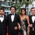 """Guillaume Gouix, Tahar Rahim, Elie Wajeman, Adèle Exarchopoulos, guest - Montée des marches du film """"Irrational Man"""" (L'homme irrationnel) lors du 68e Festival International du Film de Cannes, à Cannes le 15 mai 2015"""
