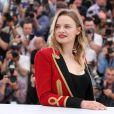 """Sara Forestier - Photocall du film """"La tête haute"""" (hors compétition) lors du 68e Festival de Cannes le 13 mai 2015"""