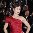"""Noomi Rapace - Montée des marches du film """"The Sea of Trees"""" (La Forêt des Songes) lors du 68e Festival International du Film de Cannes, le 16 mai 2015."""