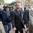 Oscar Pistorius lors de son arrivée au tribunal de Pretoria, le 10 mars 2014