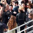 Rumer Willis se prépare pour la finale de Dancing With the Stars avec sa famille. Sa mère Demi Moore, ses soeurs Tallulah Belle et Scout LaRue ainsi que son père Bruce Willis et sa nouvelle épouse Emma Hemming. Le 18 mai 2015
