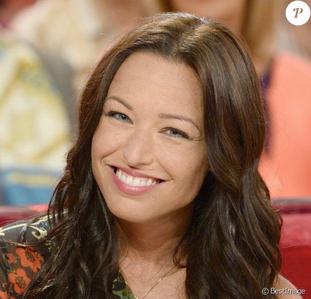 Natasha St-Pier - Enregistrement de l'émission Vivement Dimanche, le 8 octobre 2014.