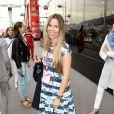 Vivian, épouse de Nico Rosberg, au Grand Prix de F1 de Monaco le 23 mai 2015