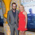 """Joshua Leonard et Alison Pill à la première de la saison 3 de """"The Newsroom"""" à Los Angeles, le 4 novembre 2014."""
