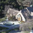 Image du célèbre ranch Neverland, de Michael Jackson, en Californie. Le 15 janvier 2013