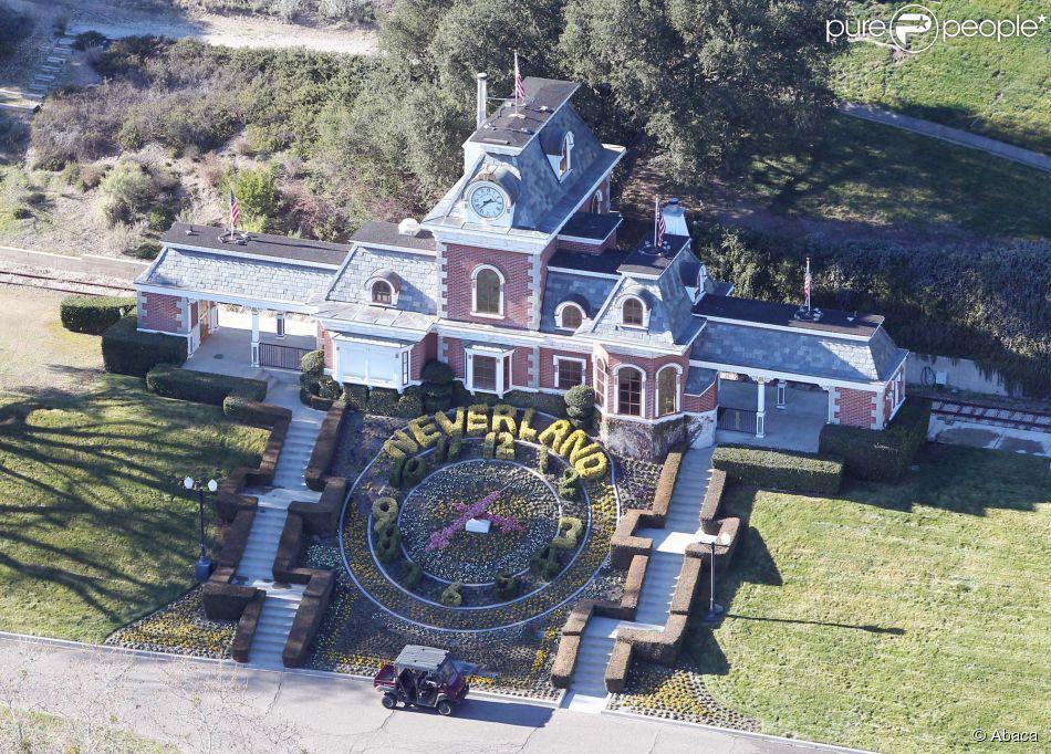 Image du ranch Neverland, de Michael Jackson, en Californie. Le 15 janvier 2013
