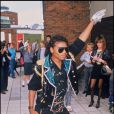 Michael Jackson lors de la tournée Bad Tour, le 16 juillet 1988