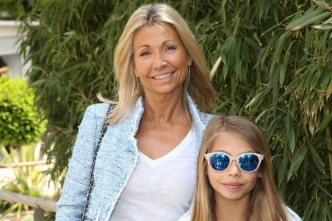 Roland-Garros : Natty Belmondo maman comblée avec Stella, face à Mélanie Thierry