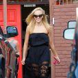 Nastia Liukin se rend dans les studios de l'émission 'Dancing With The Stars' à Hollywood, Los Angeles, le 26 avril 2015