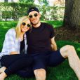 Nastia Liukin et son futur mari Matt Lombardi, sur Instagram le 30 mai 2015