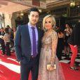 Nastia Liukin et son futur mari Matt Lombardi, sur Instagram le 24 mai 2015