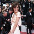 """"""" Inès de la Fressange - Montée des marches du film """"Irrational Man"""" (L'homme irrationnel) lors du 68e Festival International du Film de Cannes, à Cannes le 15 mai 2015. """""""