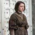 Maisie Williams (Arya) dans la série Game of Thrones.