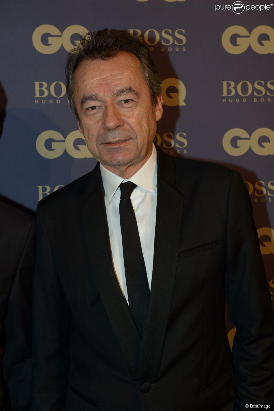 """Archives - Michel Denisot lors de la soirée """"L'homme de l'année GQ 2014"""" au Musée d'Orsay, à Paris le 19 novembre 2014."""
