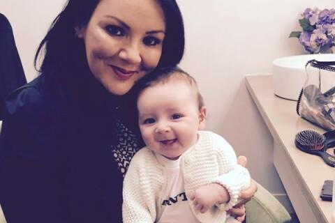 Martine McCutcheon (Love Actually) : Inséparable de son bébé Rafferty