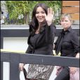 Martine McCutcheon aux  London Studios le 26 juin 2009.