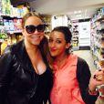 Mariah Carey a Carrefour, le 11 juin 2015 sur Twitter