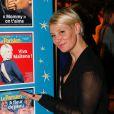 Maïtena Biraben, lors de la 2e édition  Les Etoiles du Parisien  à la Bellevilloise à Paris le 15 décembre 2014.