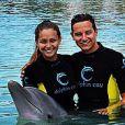 Florian Thauvin et sa compagne Charlotte Pirroni aux Bahamas - juin 2015
