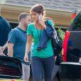 Emily, l'assistante de Tom Cruise qui ressemble étrangement à Katie Holmes. Jasper, GA, le 4 juil 2015.